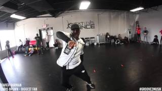 Xavier Durman Choreography | @Chrisbrown - Biggest Fan
