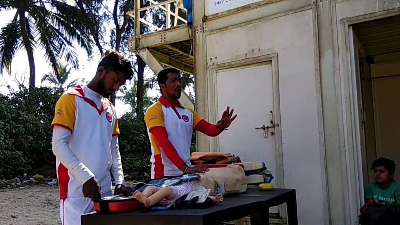 First aid training for drawning victims by Drishti Life Saving Goa | Lifeguard training Part II