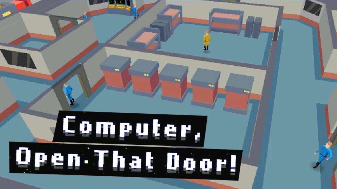 Computer open that door