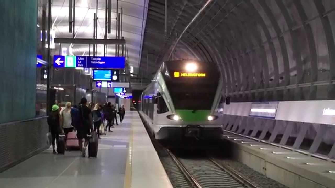 Juna Helsinki Vantaa