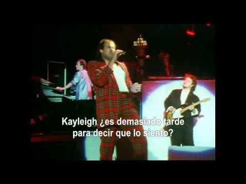 Marillion - Kayleigh (Subtítulos español)
