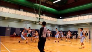 [男子乙組籃球] 學界比賽王肇枝對馮梁結 | 9/12/2015