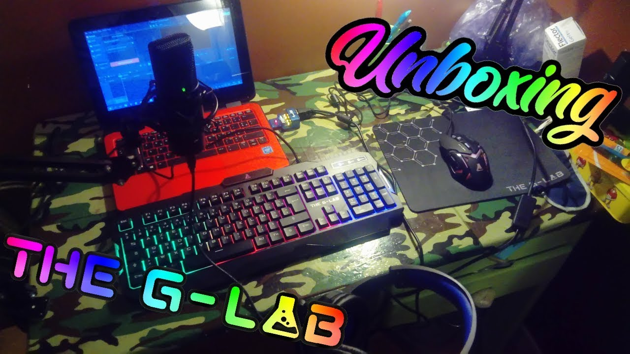 UNBOXING SETUP COMPLET A 130€ (combo the g-lab + micro bird UM1)