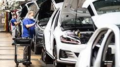 Volkswagen-Werk in Wolfsburg beendet Corona-Zwangspause