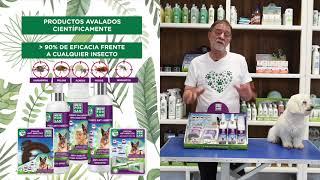 Vídeo: Collar Anti-insectos para perros con margosa, geraniol y lavandino