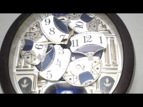 seiko melodies in motion musical clock