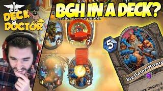 BGH In a Deck!? Deck Doctor P2 w/ Zalae | Firebat Hearthstone