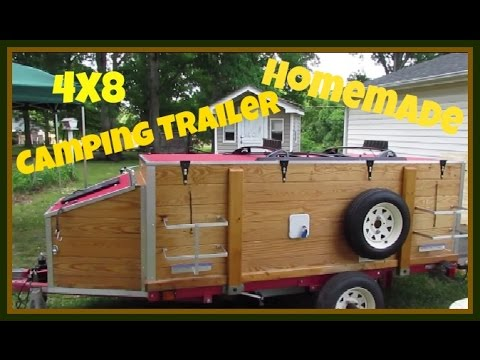 Harbor Freight 4x8 Camping Trailer
