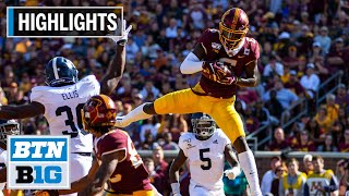 Highlights: Johnson's 3 TDs Help Goldy to the W | Georgia Southern at Minnesota | September 14, 2019
