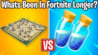 10 LONGEST LASTING THINGS IN FORTNITE HISTORY!