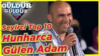 Hunharca Gülen Adam  Güldür Güldür Show Seyirci Top 10 - Bölüm 3