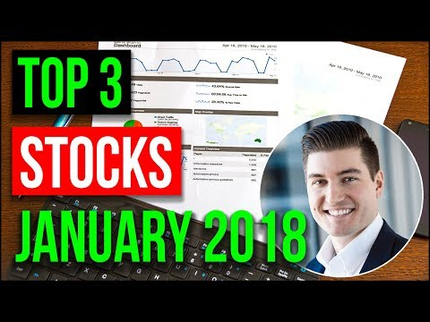 3 Stocks to Buy In January 2018