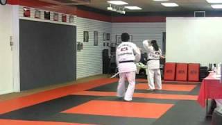 Zaasha Yellow Wolf Black Belt Broad Sword Form ATA