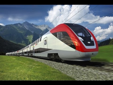 Bullet Trains In Europe.