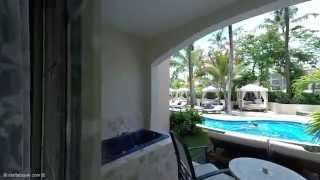 Colonial Club Swim Out Suite Room Tour at Majestic Colonial All-Inclusive Resort