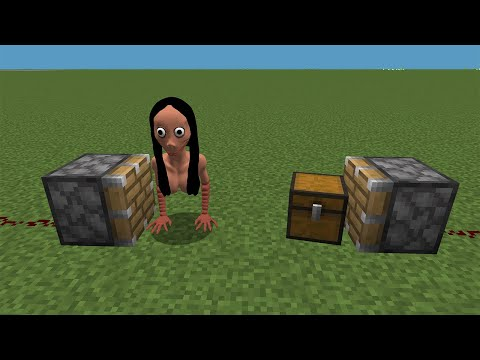 WHAT If MOMO + CHEST In MINECRAFT ??