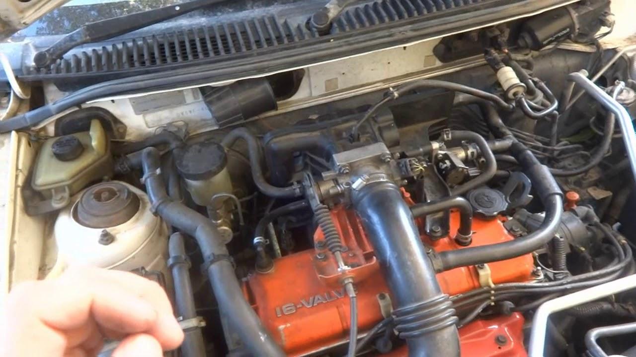 двигатель не набирает обороты мазда демио