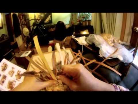 Nancy Today: How to make a Birchbark box basket 2 beresta korzina hacer cesta