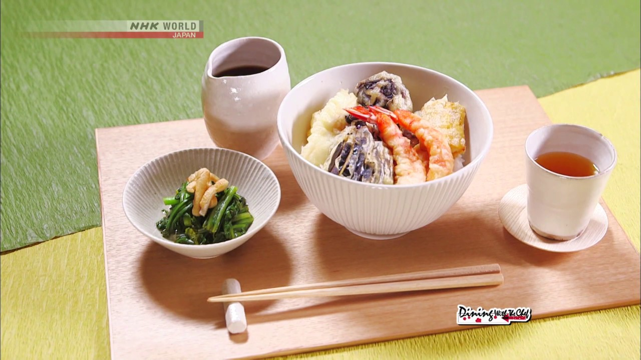 Photo of Chef Rika's Tempura Rice Bowl [Japanese Cooking] – Dining with the Chef – video