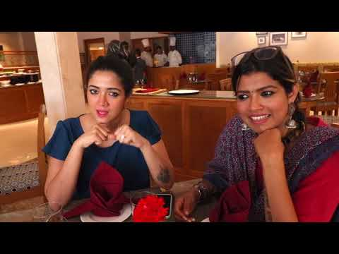AG Vlogs EP 26 | Subscribers meet venue tour - Monsoon Empress | AMRUTHA SURESH | ABHIRAMI SURESH
