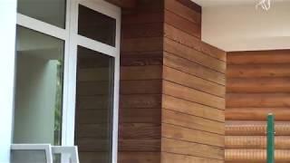 Утепление дома минватой, облицовка планкеном, отделка декоративной штукатуркой Ceresit