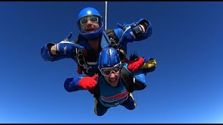"""""""AWESOME FEELING"""" - Skydive for Epilepsy Action"""