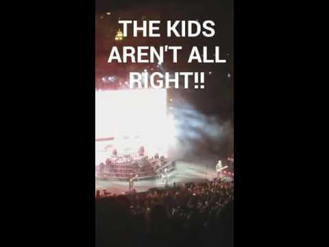 Fall Out Boy Irvine Meadows Amphitheatre 3/26/16