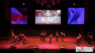 DEFYANT (GUAM) | 3RD PLACE | JUNIOR DIVISION | WSB 2014