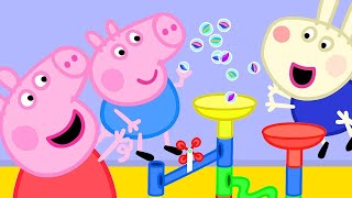 Peppa Pig Official Channel   Peppa Pig's Fun Marble Run Games