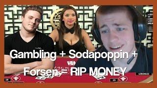 Forsen, Firebat and Sodapoppin meet at DreamHack (and gamble)