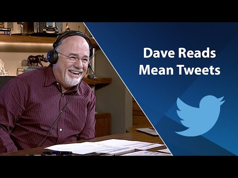 Dave Ramsey Reads Mean Tweets