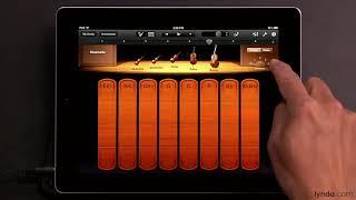 iPad tutorial: How to Play the Smart Strings in Garageband   lynda.com