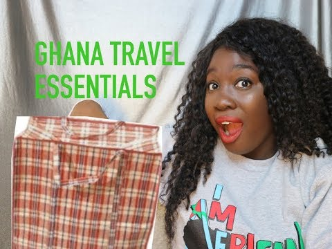 GHANA TRIP ESSENTIALS | AfiCherise