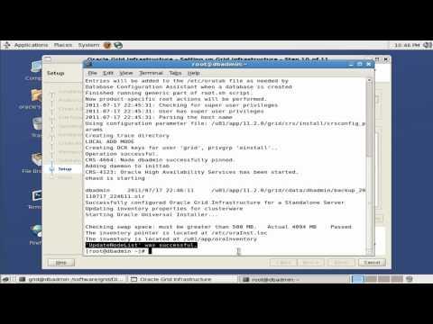 Oracle Grid single instance 11gR2