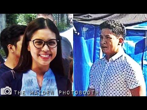 Maine and Alden @ Love Is Taping October 16 2017 #ALDUB27thMonthsary