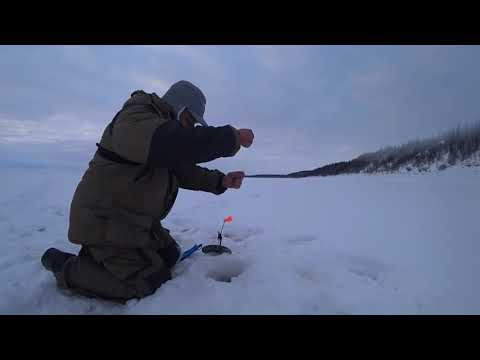 Рыбалка по первому льду в якутии