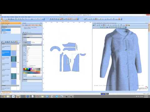 Optitex Tutorial Creating A Printed Fabric Virtual