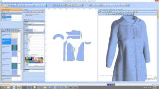 Optitex Virtual Product 3D Fashion Design Software for Textiles,Apparel,Garment Industry