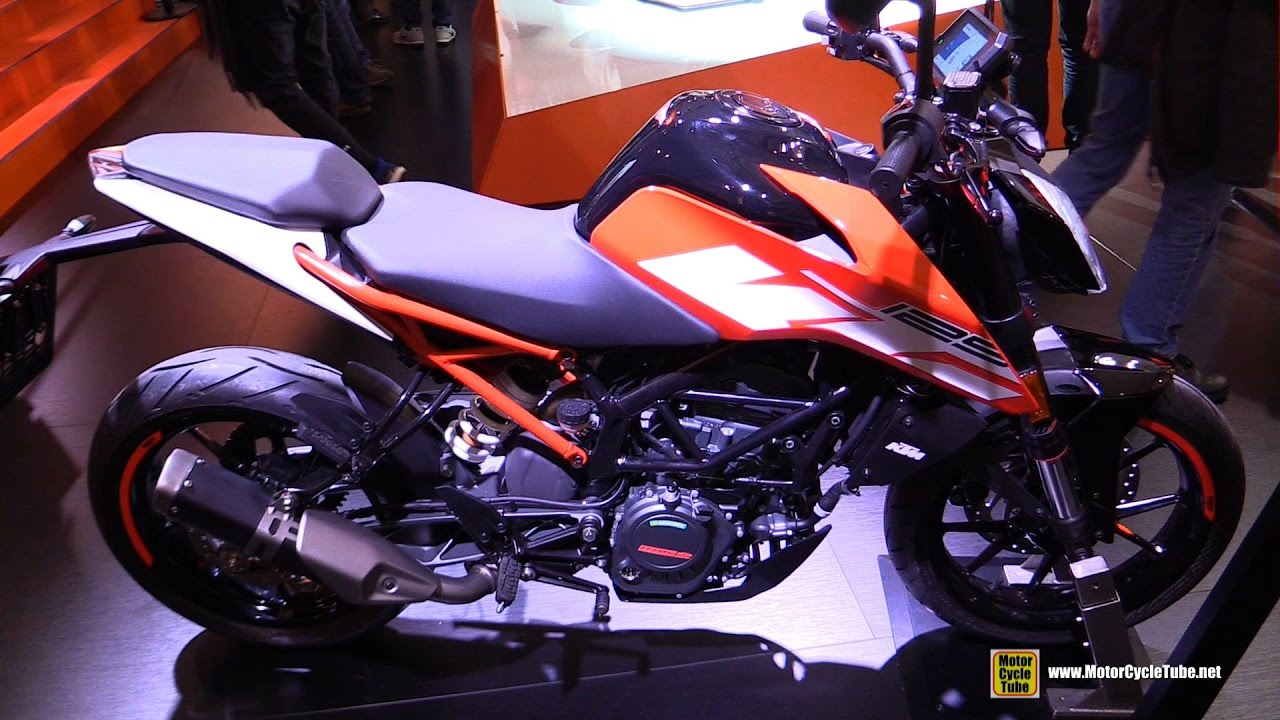 2017 ktm 125 duke walkaround debut at 2016 eicma milan youtube. Black Bedroom Furniture Sets. Home Design Ideas