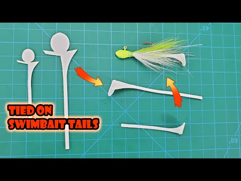 Fishing Cohen's Creatures - CGH Swim Tail On A Hand Tied Bucktail Jig