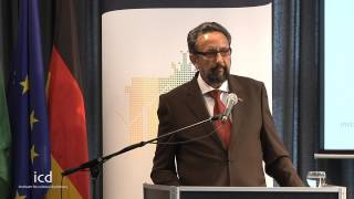 Abed Nadjib, Minister Counselor at the Embassy of the Islamic Republic of Afghanistan in Berlin