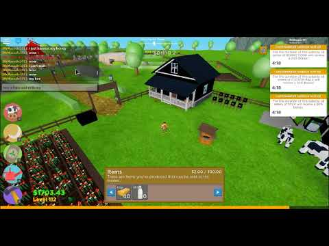 How To Get Milk From Cows Farm Town Roblox How To Get Milk With The Cow In Farmtown Beta Youtube