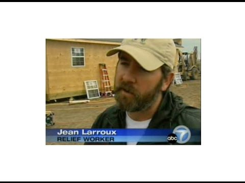 Featured on KABC Television out of Los Angeles doing a story on volunteers featuring Jean Larroux