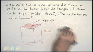 Volumen de figuras geometricas │ ejercicio 2