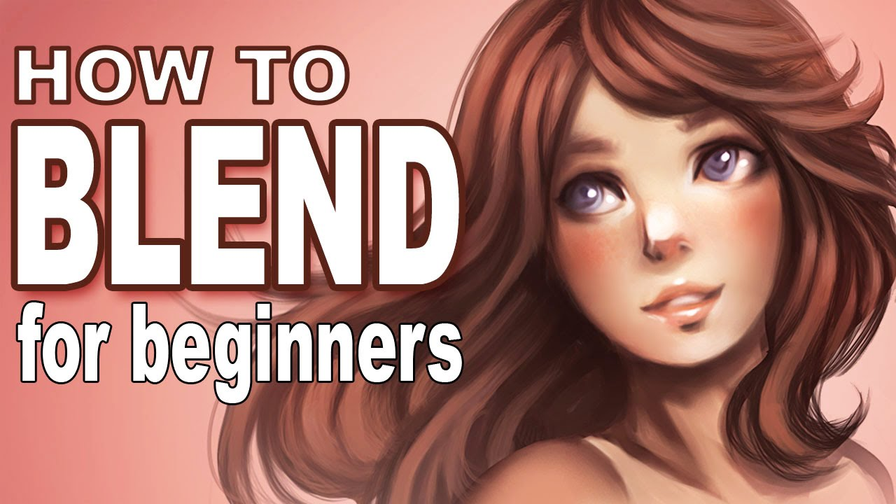 HOW TO BLEND FOR BEGINNERS (in Photoshop)