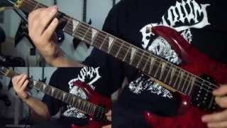 Cannibal Corpse - A Skeletal Domain (guitar cover)