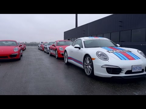 Porsche Performance Tour Canada