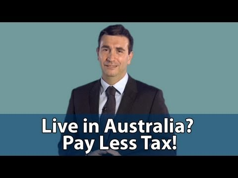 Use Australia to Pay Less Tax