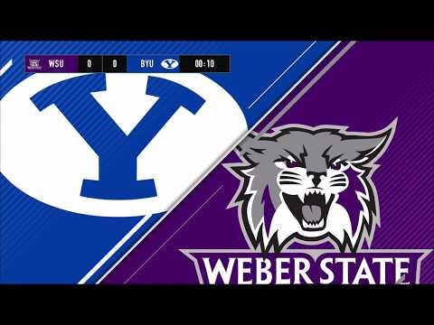 BYU Mens Soccer vs Weber State University