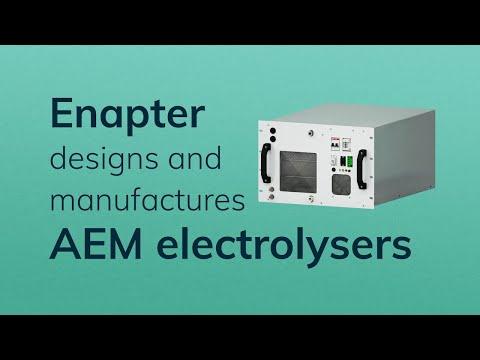 Enapter AEM electrolyser
